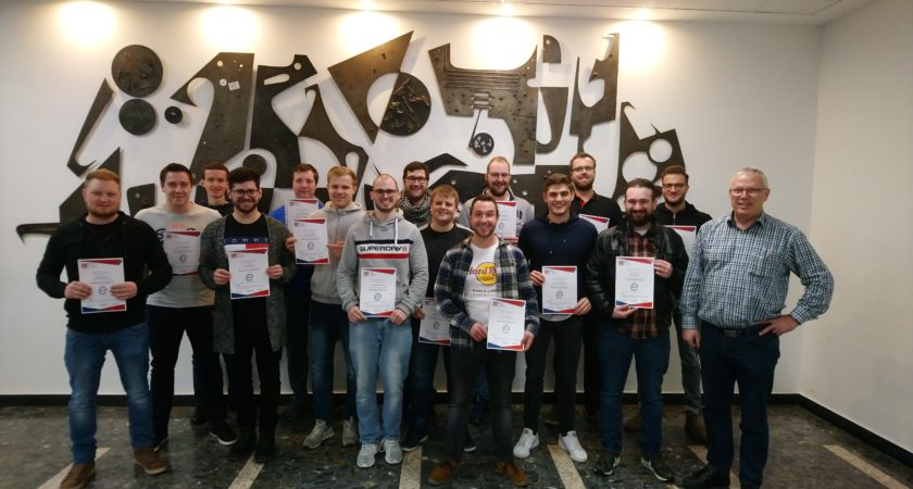 EPLAN CERTIFIED TECHNICIAN (ECT) CERTIFICATION AT THE TECHNICAL COLLEGE IN SIEGEN